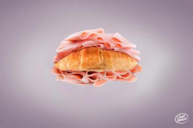 Charvenca: Croissant Print Ad by Eliaschev Saatchi & Saatchi Caracas