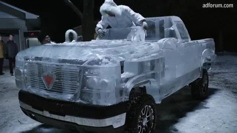 Canadian Tire: ICE TRUCK Outdoor Advert by Taxi Canada