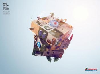 Sodimac: Terraces Print Ad by McCann Worldgroup Lima