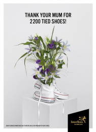 Interflora: Shoes Print Ad by Volt