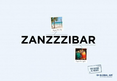 Global Air: Zanzibar Print Ad by Cheil Kazakhstan