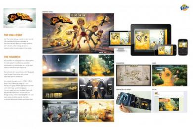 Fanta: PLAY FANTA GRAPHIC NOVEL Digital Advert by Ogilvy & Mather New York