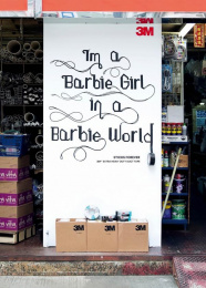 3M: Barbie Girl, 5 Outdoor Advert by Cheil Germany