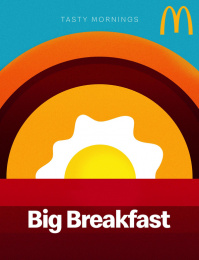 McDonald's: Tasty Mornings - Big Breakfast Print Ad by Fortune Promoseven Dubai