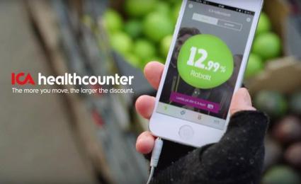 ICA: Healthcounter [image] 2 Digital Advert by King, R/GA Stockholm
