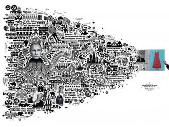 Zmg: Putin Print Ad by Ogilvy & Mather Frankfurt