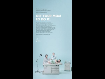Prostate Cancer Foundation: Your Mom [image] 1 Print Ad by MacLaren McCann Toronto