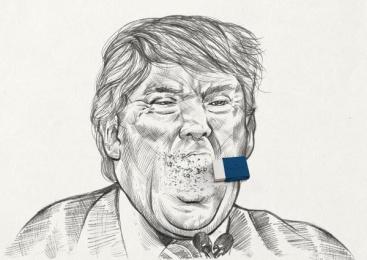 Faber-Castell: Trump Print Ad by Miami Ad School Sao Paulo