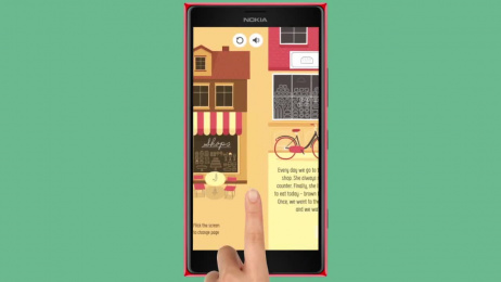 Nokia Lumia: Children's Book's App, HaloBajki Film by Wunderman Warsaw, Y&R Warsaw