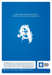 Missing Children Europe: Did you see her? Print Ad by 10 Advertising