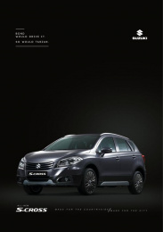Suzuki S-Cross: Bond Print Ad by Circus Grey Lima