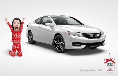Honda: Spoil Print Ad by Wax