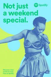 Spotify: Brenda Fassie Outdoor Advert