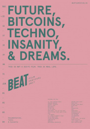 Beat Film Festival: Beat Film Festival Posters, 9 Design & Branding by BBDO Moscow