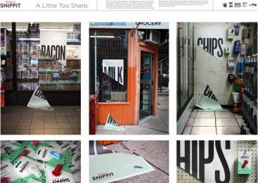Snippit: SNIPPIT Outdoor Advert by Y&R Toronto