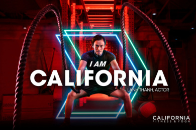 California Fitness: I am California - Lanh Thanh Print Ad by DDB & Tribal Vietnam