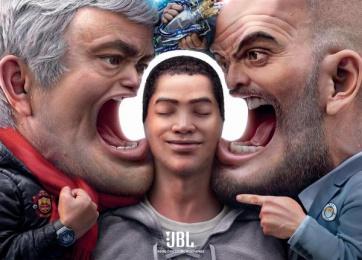 JBL: JBL Print Ad by Cheil Hong Kong