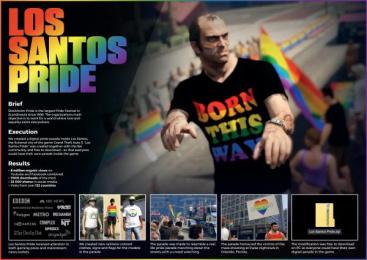Stockholm Pride: Los Santos Pride [image]  Digital Advert by Garbergs Annonsbyra