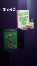 Shipt: Delivery Done Differently: Cereal Film by Huge, Brooklyn