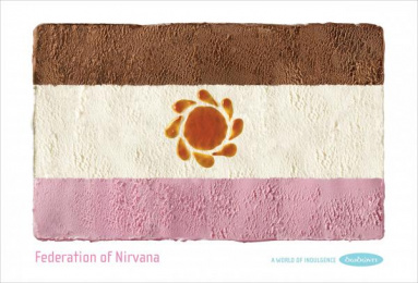 Dodoni Ice Cream: FEDERATION OF NIRVANA Print Ad by The Syndicate