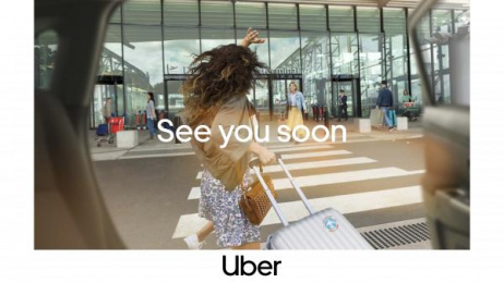 Uber: Airport Print Ad by Special Group Australia